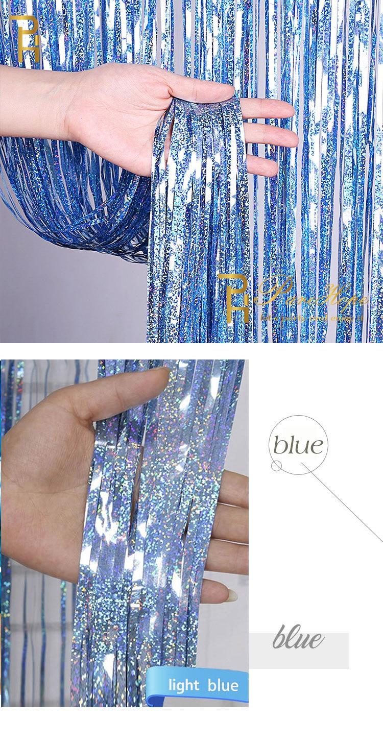 foil curtain 9