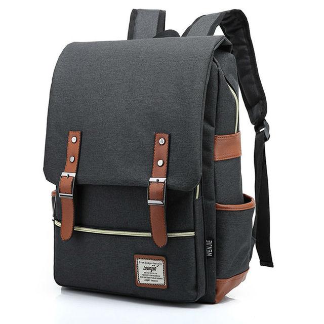Fashion Colorful Canvas Backpacks Men Travel Rucksack Women Backpack  Shoulder Bag Canvas School Backpack Casual Weekend Bag Tote a3db3737e9