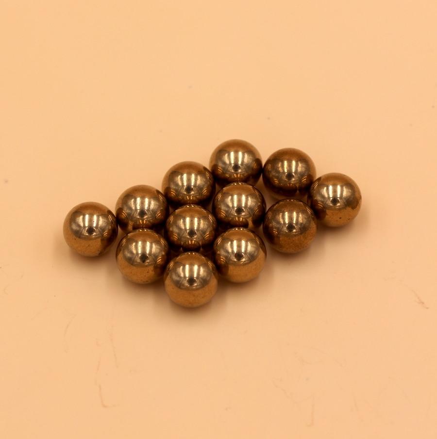 10mm 200pcs Brass H62 Solid Bearing Balls High Quality