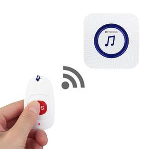 Image 2 - Retekess TH001 Беспроводная система оповещения о вызове медсестры кнопка SOS + приемник TH002 для пациента пожилого ухода дома