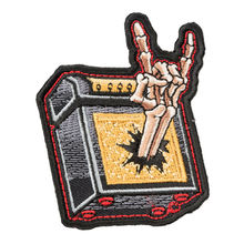 Custom Embroidered patches Musical decorate iron on patch can be customized with your design as promotional gifts giveaway