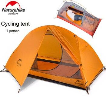 DHL envío gratuito 1,5 KG de naturehike ultraligero tienda 1 persona acampar...