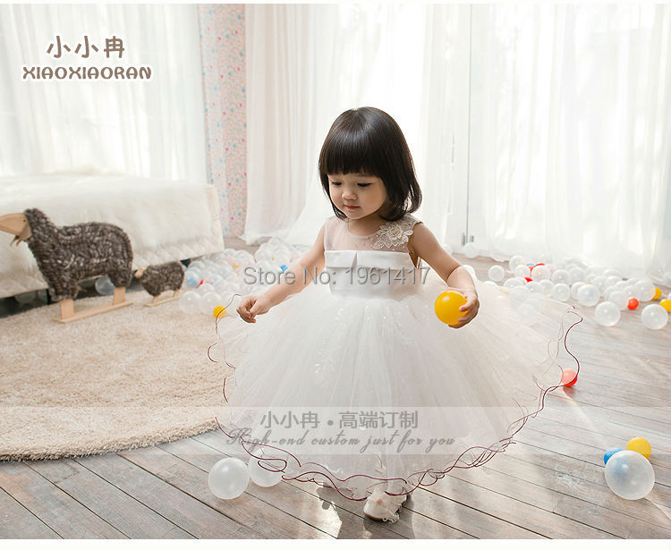 Фото Baby-girls Lace Dress Baby Party Formal Dress Can Be Customized Factory Price Direct Selling