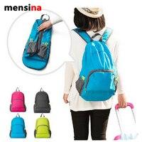 Outdoor portatile doppia spalla borsa da viaggio trekking borsa sportiva in nylon impermeabile della pelle doppia tracolla zaino