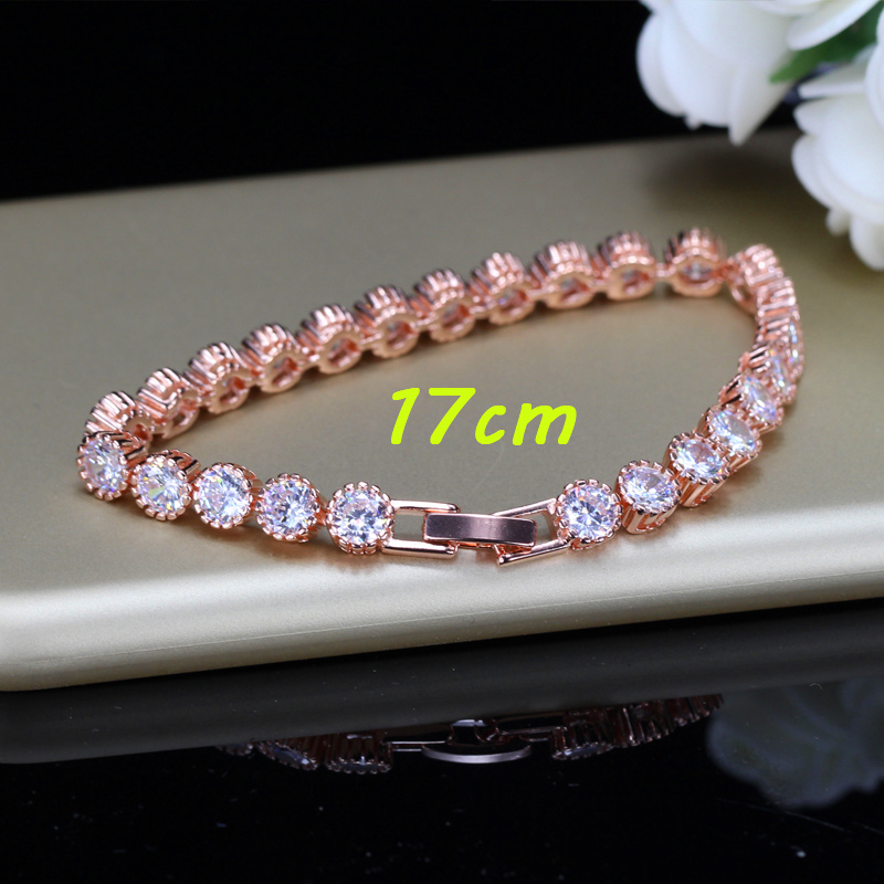 Zirconia Bracelets Women Gift