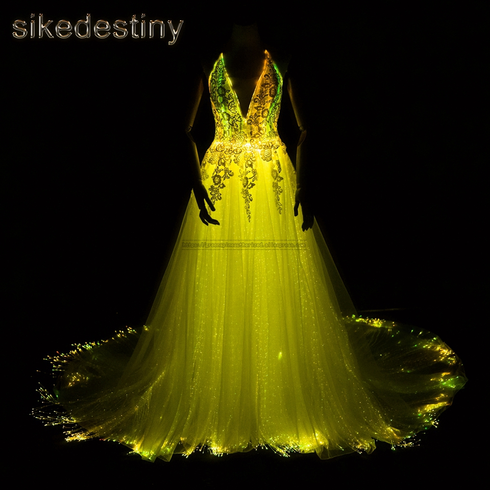 Großhandel led light wedding dress Gallery - Billig kaufen led ...
