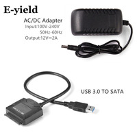 USB 3 0 To SATA Adapter Converter Cable For 2 5 3 5 HDD SSD Hard