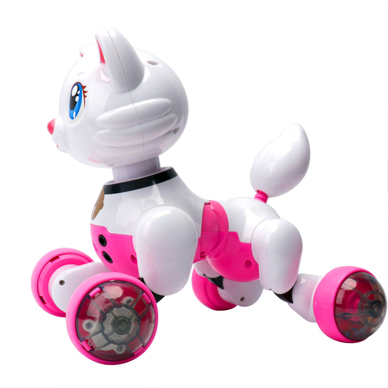 New Pink B Lue Smart Baby Toy Dog Infrared Remote Control Series Rc