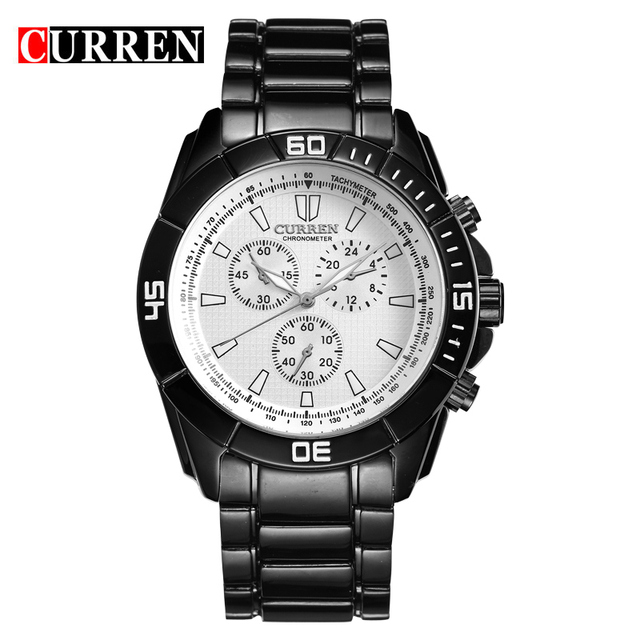 CURREN watches men quartz watch relogio masculino luxury military wristwatches fashion casual water Resistant army sports 8044