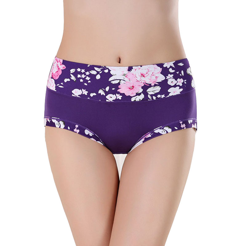 New Underwear Women   Panties   Cotton Briefs Sexy Lingeries Printing   Panty   Girls Plus Size Underpant Calcinha Shorts For Ladies