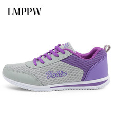 New 2019 Sneakers Women Sport Shoes Lace-Up Mesh Breathable Casual Shoes Ladies Outdoor Walking Shoes Comfortable Fashion Flats все цены
