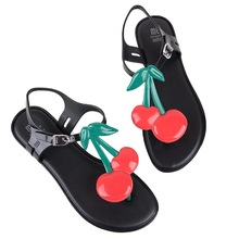 high quality melissa sandals women shoes comfortable flat sandals 2019 jelly shoes gift for women