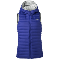 The North Face grey goose down vest thermal comfortable hooded coats travel waterproof reversible durable casual vest 3KTN