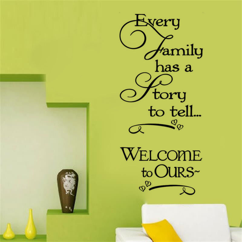 6 Things Every Perfectly Decorated Home Should Have: Perfect Quality Wallpaper Every Family Has A Story Vinyl