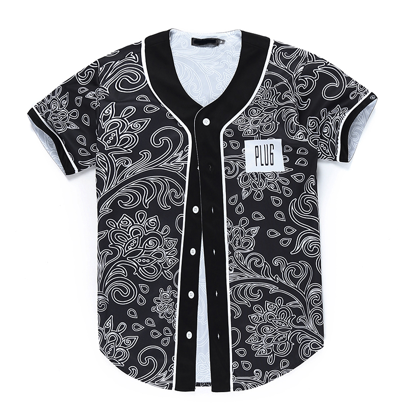 Mens Bandana Shirt