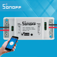 2017 New Sonoff Smart Home Wireless Remote Control Wifi Switch Intelligent Timer Switch Diy Switch 220V