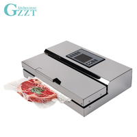 High Quality Semi Commercial Vacuum Sealer Household Packing Machine Food Packing Adjustable Seal Time
