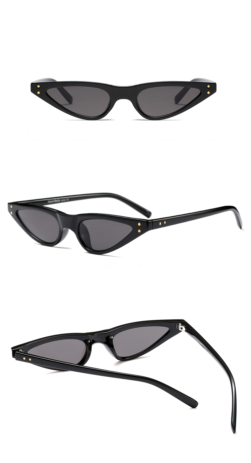 small sunglasses women cat eye vintage 9175 details (3)