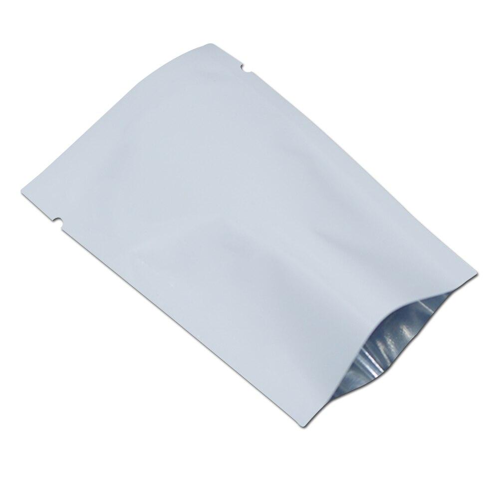 Aluminum Foil Windows : Cm top open white aluminum foil vacuum storage bags