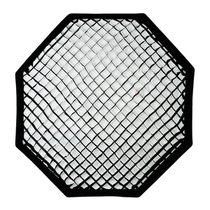 Image 4 - Godox 95 centímetros 120 centímetros 140 centímetros Estúdio Octagon Favo De Mel Grade Softbox Refletor softbox com Bowens Monte para Estúdio Strobe a Luz do Flash