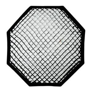 Image 4 - Godox 95cm 120cm 140cm stüdyo sekizgen petek izgara Softbox reflektör softbox Bowens dağı stüdyo flaş ışığı için flaş ışığı