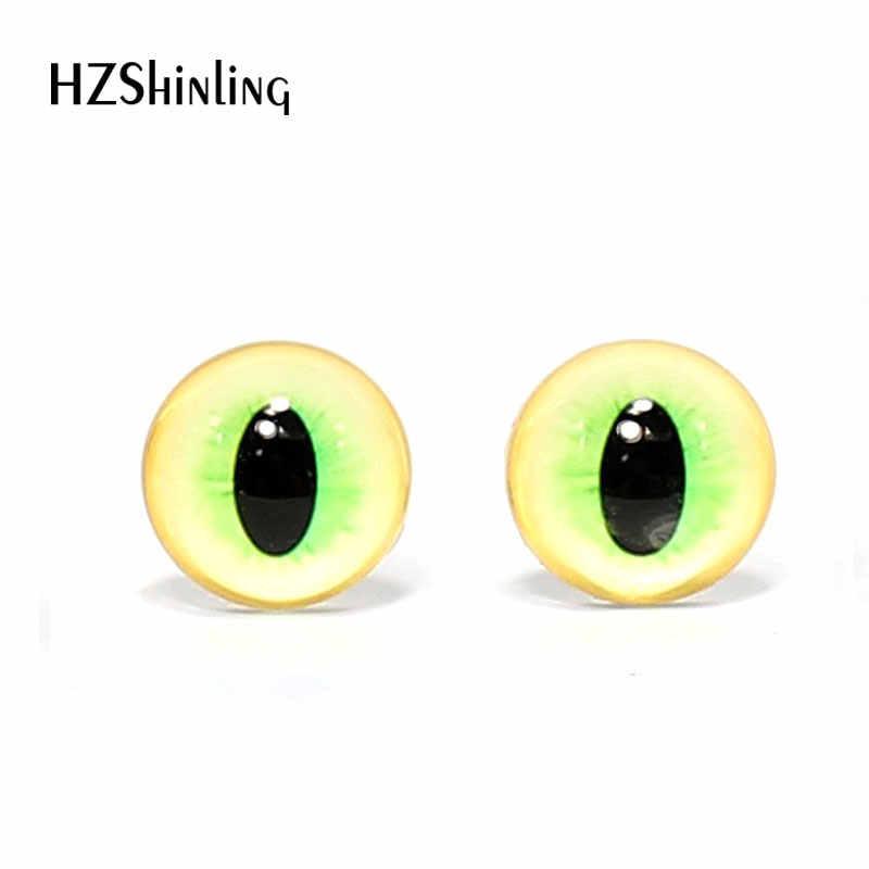 3 pares 12mm olhos de vidro Artesanal Dragão Monstro Brinquedo Olhos De Vidro Cabochões DIY Animais Animais De Estimação Olhos Acessório