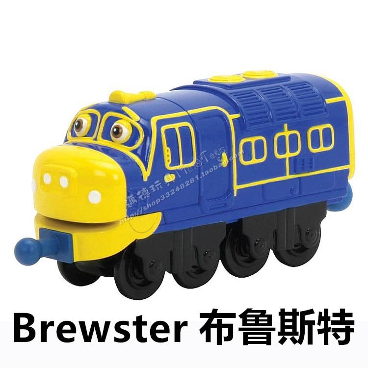 100 original Learning Curve Chuggington Diecast Train Toy RAILWAY BREWSTER T9 free shipping