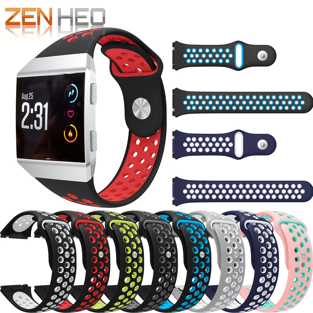 Sport-Bands Bracelet Fitbit Watch-Strap Replacement Silicone