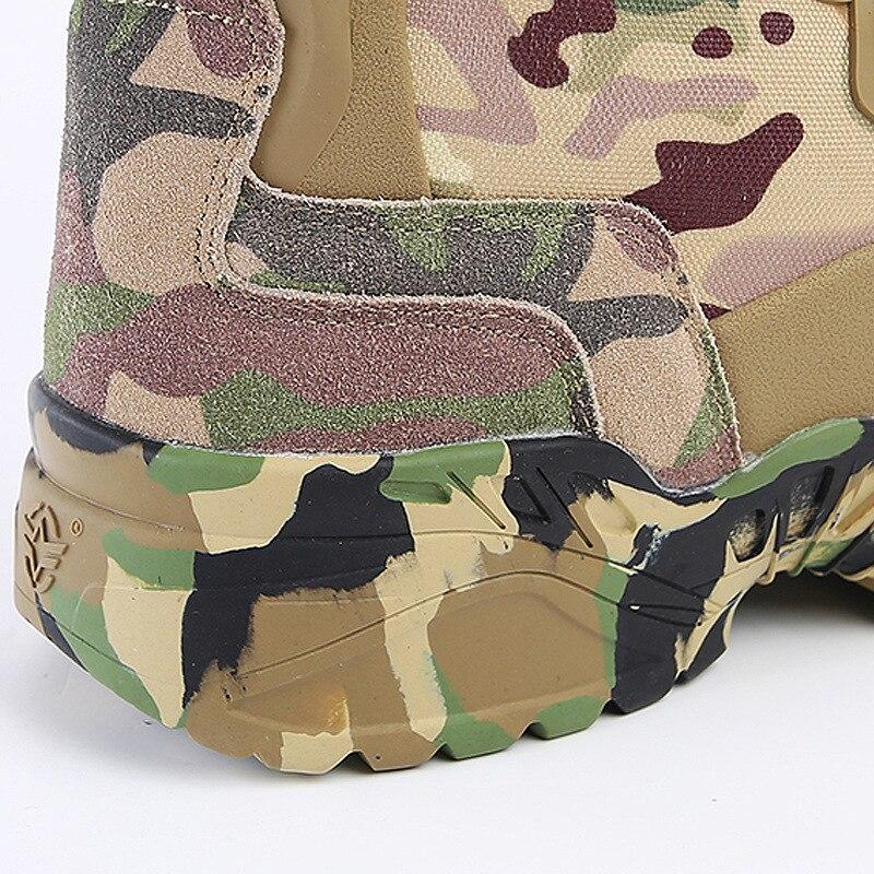 Bota Trekking Sapatos Couro E Botas Deserto Livre Tornozelo As Camping Ao Caminhadas Tático Proteja Militar Homens Das Ar De Show Camo Dos Sapatilhas t87XwqRx