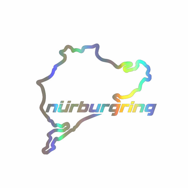 The Cheapest Price Window Sticker 14cm*12.5cm Racing Road Racing Nurburgring Funny Stickers And Decals Vinyl Sticker On Window Styling Back To Search Resultstoys & Hobbies
