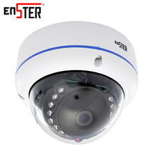 Enster security ip camera 4.0 MP with mic surveillance outdoor waterproof H.265 compressed format IP video