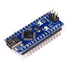 Freeshipping ! 10PCS Nano 3.0 controller compatible with arduino nano CH340 USB driver NO CABLE NANO V3.0