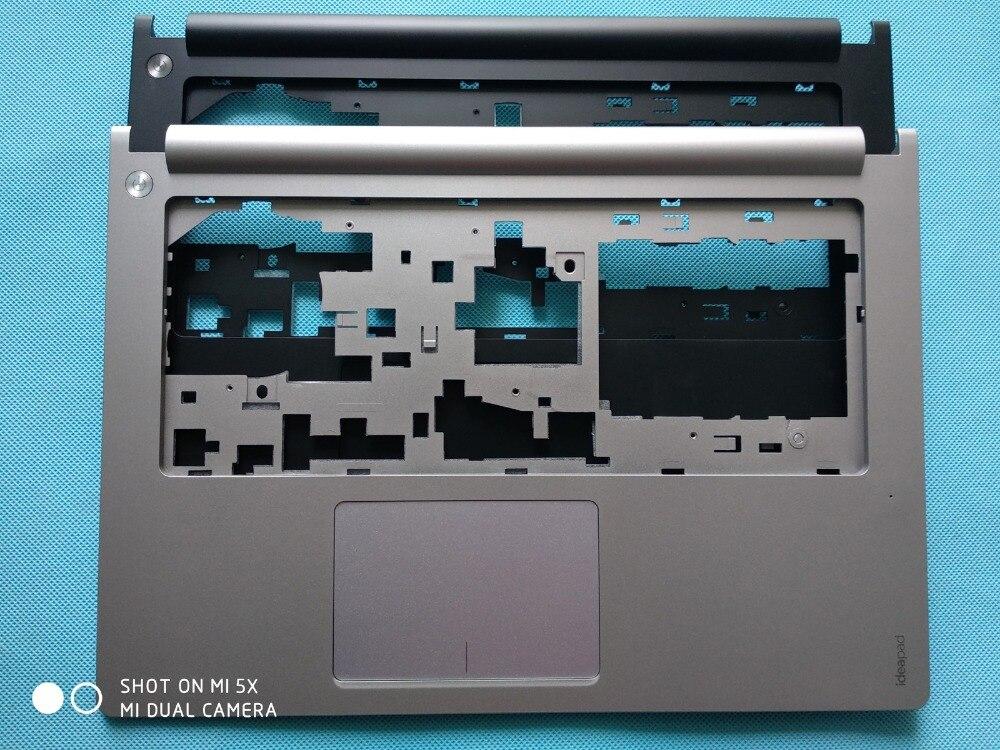 New Original Lenovo Ideapad S400 S405 S410 S415 Upper Palmrest Case black AP0SB000100 silve AP0SB000180