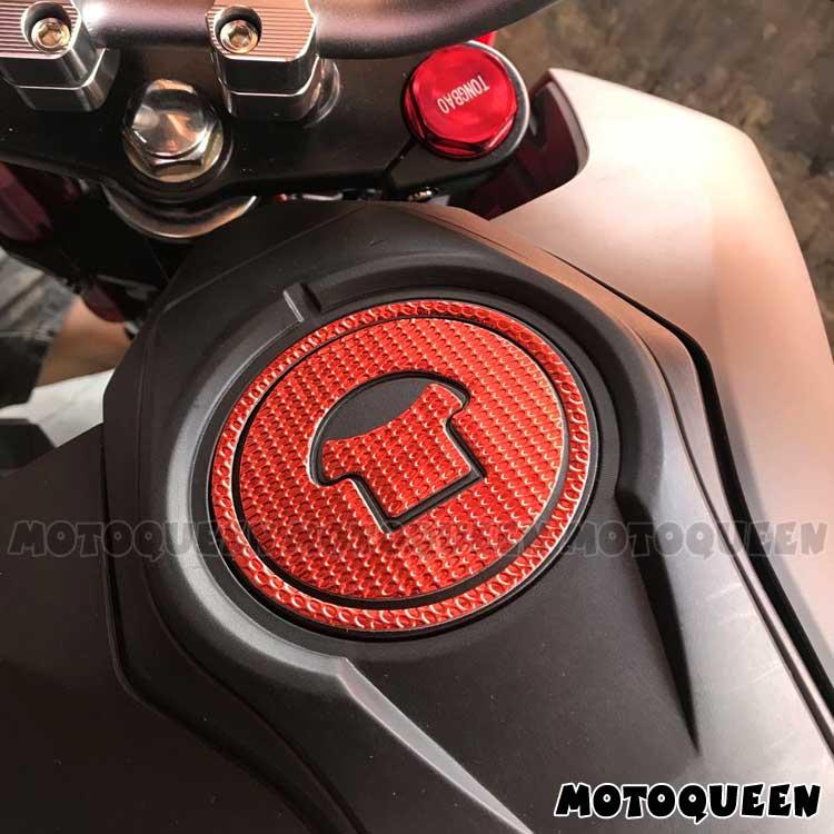 Motorcycle Fuel Gas Cap Protector Cover Pad Sticker Decals For HONDA MSX125 CBF150 CBR150 CBR250R CBR300R CBR500R CB500F CB500X