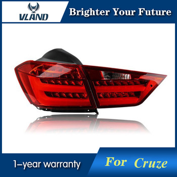 LED Rear Lights Assembly For Chevrolet Cruze Tail Lights 2015-2016 LED Tail Lamps DRL Brake Park Signal