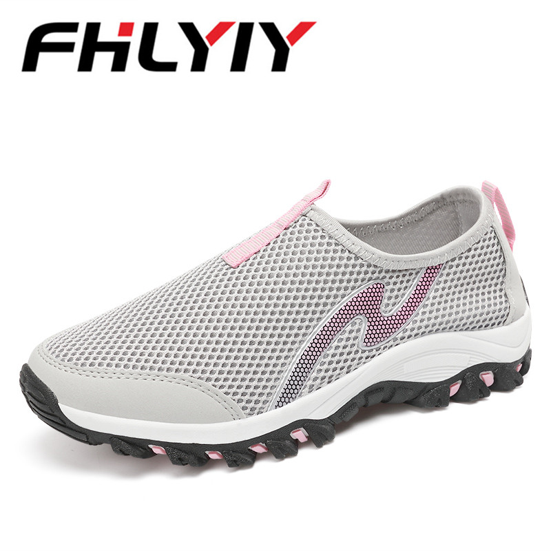 Summer Casual Shoes Woman Slip-On Platform Flats Female Breathable Zapatillas Slipony Women Shoes Zapatillas Mujer Chaussures renben air mesh women casual shoes fashion flats walking loafers female shoes woman breathable summer shoes zapatillas mujer