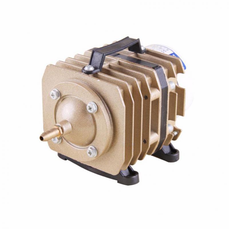 Pompe à Air électromagnétique d'aquarium de 20/35/45 W pompe à oxygène d'aquarium de compresseur d'air d'étang de réservoir de poissons avec la Valve de séparateur d'air de 6 manières