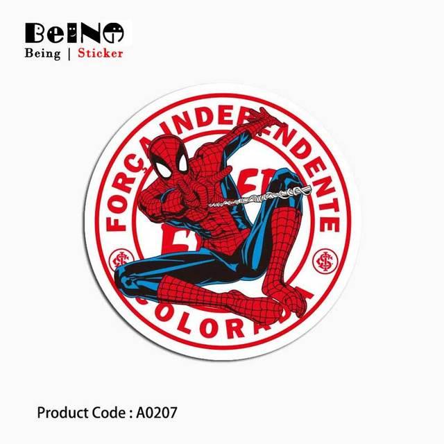 Spiderman Phim Hoạt Hình Sticker Dán Phim Hoạt Hình Va Li Không Thấm Nước Máy Tính Xách Tay Đàn Guitar Hành Lý Skateboard Xe Đạp Đồ Chơi Đáng Yêu A0207 Dán