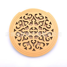 "41"" Folk Electric Box Acoustic Guitar Anti-small Solid Wood Sound Hole Cover A Variety of Personalized Pattern Sound Hole Cover(China)"