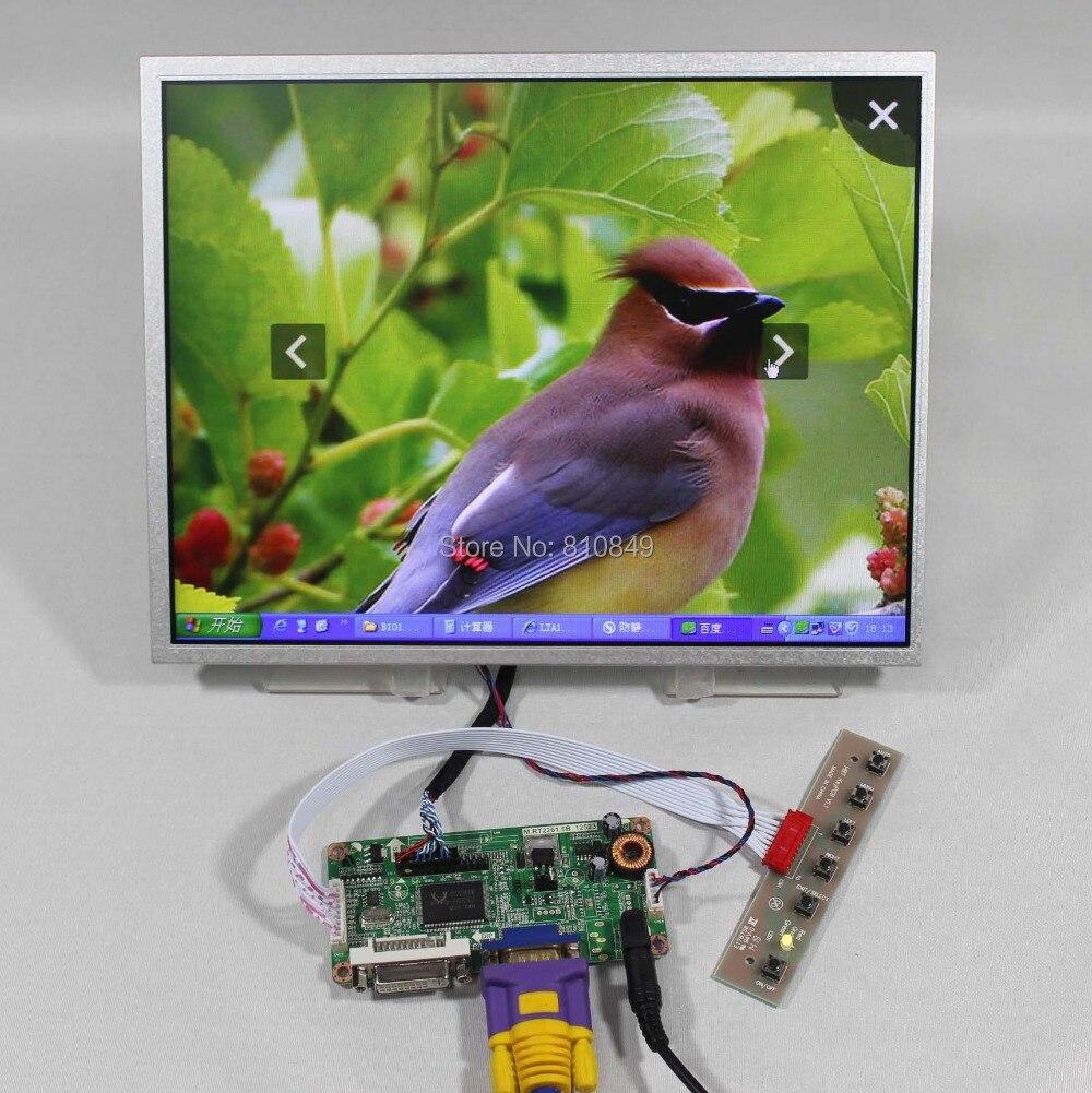 DVI+VGA LCD controller board RT2261+12.1inch AC121SA01 800*600 lcd panel details about hdmi vga dvi audio controller board 12 1inch ac121sa01 800 600 lcd panel