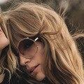 ISIDORA CE121S Designer de Marca Das Mulheres Óculos de Sol New Female Óculos de Revestimento Oculos de sol Retro Estilo Da Forma Redonda Sobre Tamanho