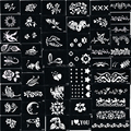 Stencils for Body Painting Glitter Tattoos, 100 sheets, Mixed Designs Free Shipping glitter tattoo kits supplies