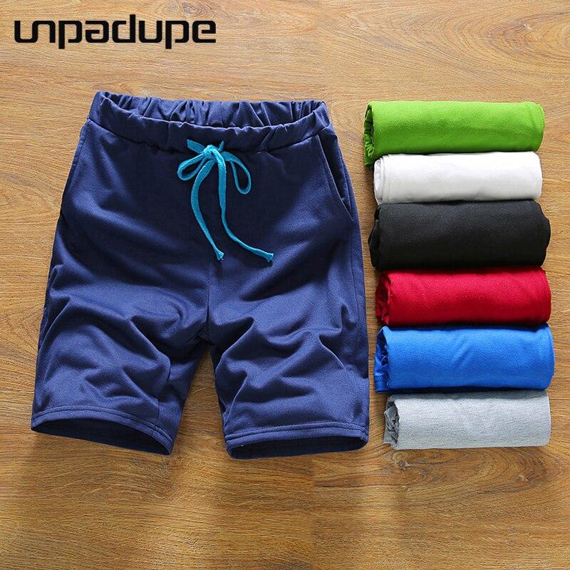 2018 Mens Shorts Casual Bermuda Brand Pure Color Beach Compression Male Cargo Shorts Men Linen Fashion Men Short Summer Linen DM