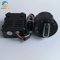 ELISHASTAR Auto Light Sensor With Headlight Switch Leaving Home Coming Home Function For Polo Golf 4 Passat B5 5ND 941 431B