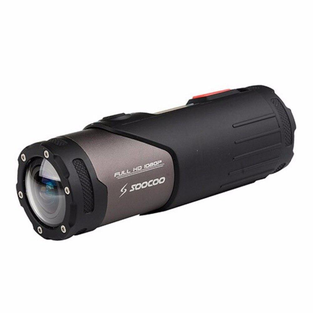 Appareil-photo d'action de sport de fucoo S20WS HD 1080 P WiFi, appareil-photo imperméable, objectif grand Angle de 170 degrés, 15 m