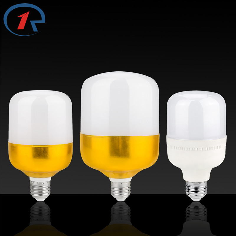 ZjRight E27 LED bulb 5W 9W 13W 18W 28W 38W LED energy saving lighting lamp DC 85-265V indoor bedroom hotel office night lighting