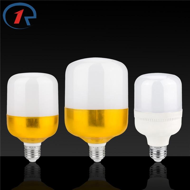 ZjRight E27 LED bulb 5W 9W 13W 18W 28W 38W LED energy saving lighting lamp DC 85-265V indoor bedroom hotel office night lighting
