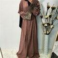 Ramadan abayas para mulheres muçulmano hijab vestido caftan kimono cardigan abaya kaftan dubai qatar uae omã robe femme roupas islâmicas