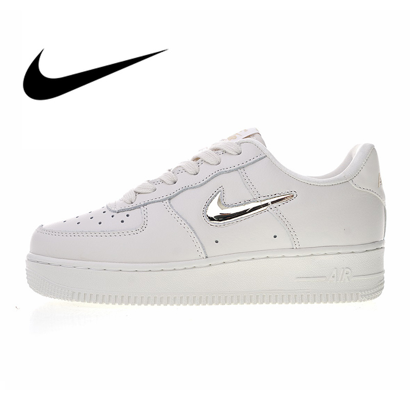 US $62.49 57% OFF|Original Authentic Nike Air Force 1 '07 PRM LX Women's Skateboard Shoes Classic Fashion Outdoor Sports Shoes Designer AO3814 001 in