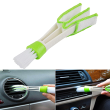 Plastic Cloth Car Brush Cleaning Accessories Auto Air Conditioner Vent Cleaner Keyboard Dust Computer Car-styling Tools Hot Sale